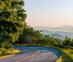 Asheville Roadway in Mountains