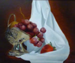 Silver Grapes by Sharon Carlyle