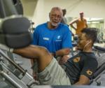 Gym Instructor Teaching Technique