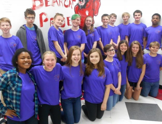 Hendersonville Middle School Students