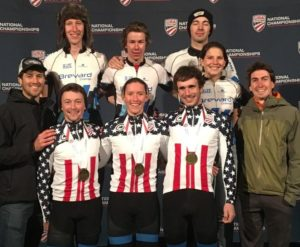 2017-18 Brevard Cyclocross Team